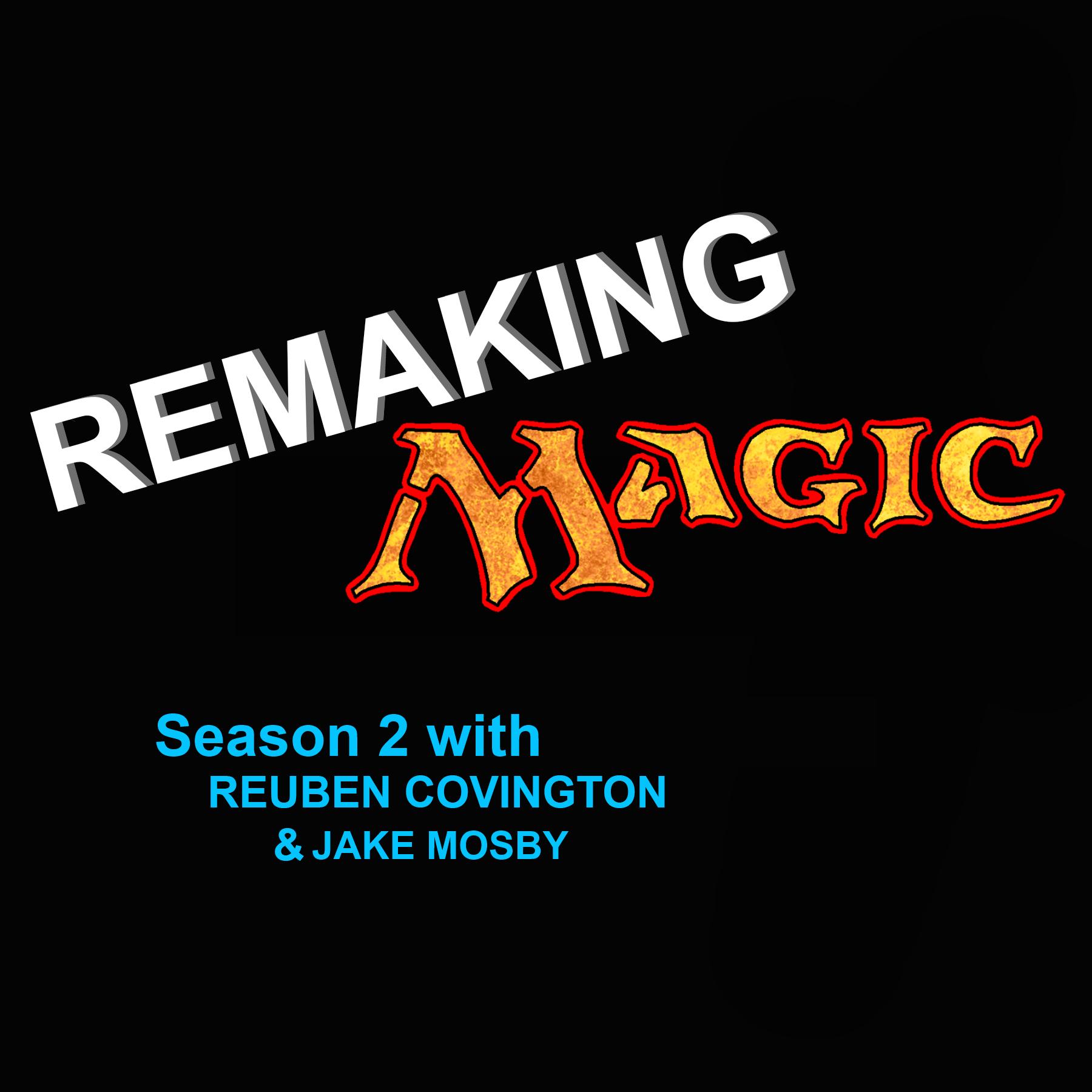 Re-Making Magic S02E01 - A new season show art
