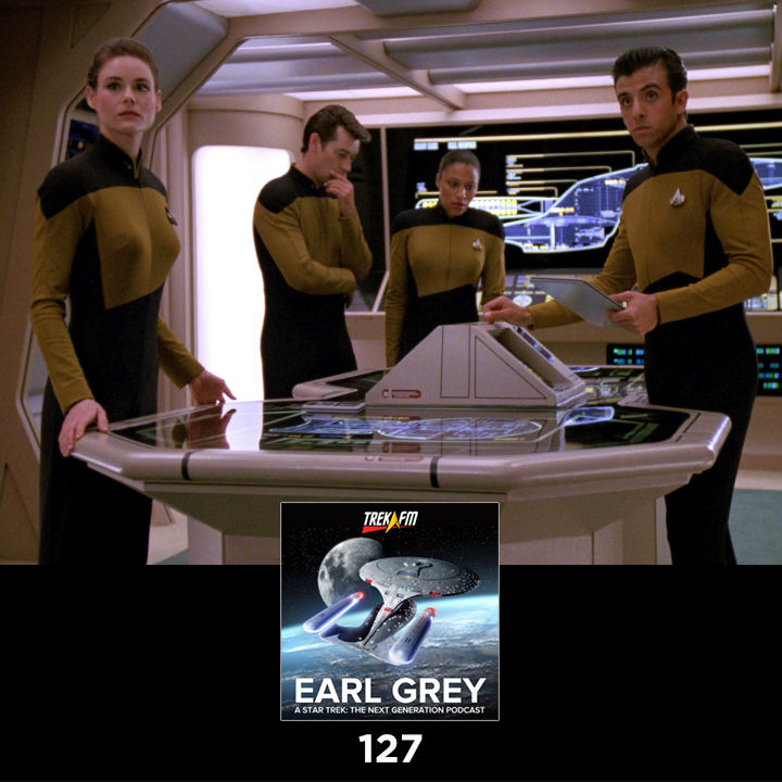 Earl Grey 127: Daniel's Technicolor Dream Uniform