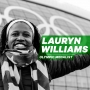Artwork for Forging Building Blocks from Disappointments with Olympic Medalist Lauryn Williams [Episode 12]