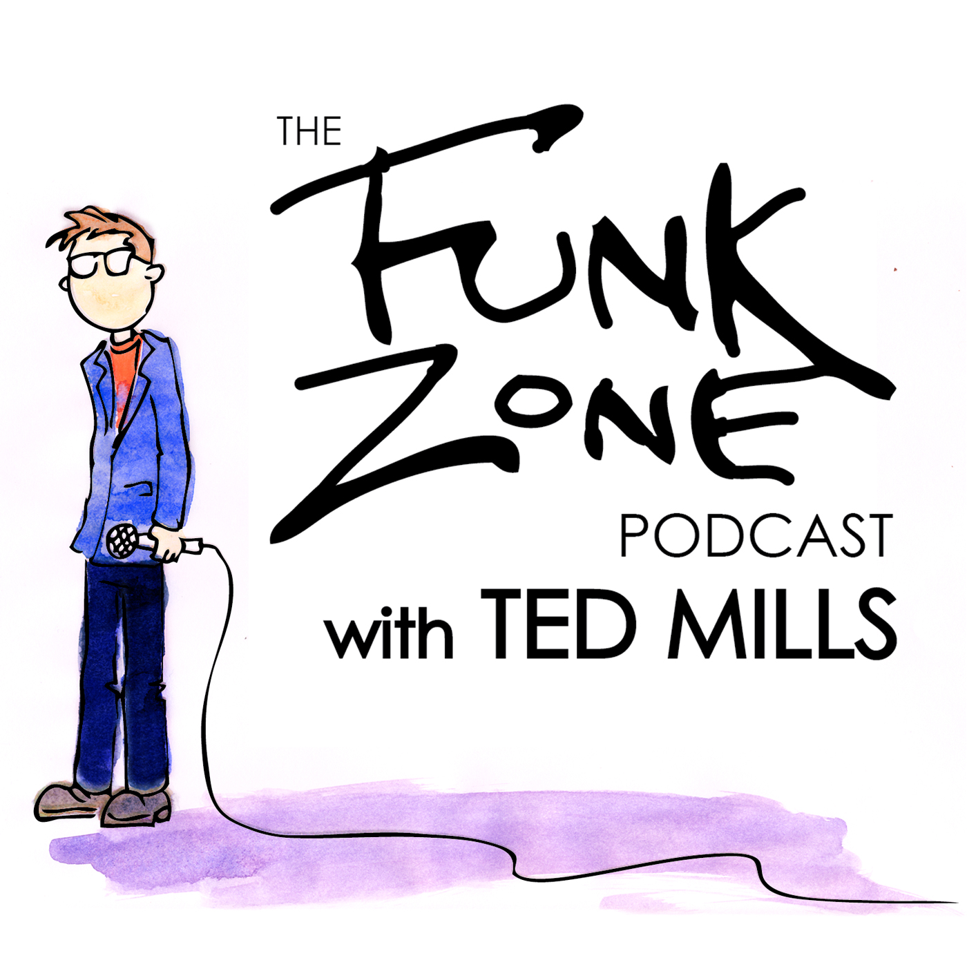 The FunkZone Podcast with Ted Mills show art