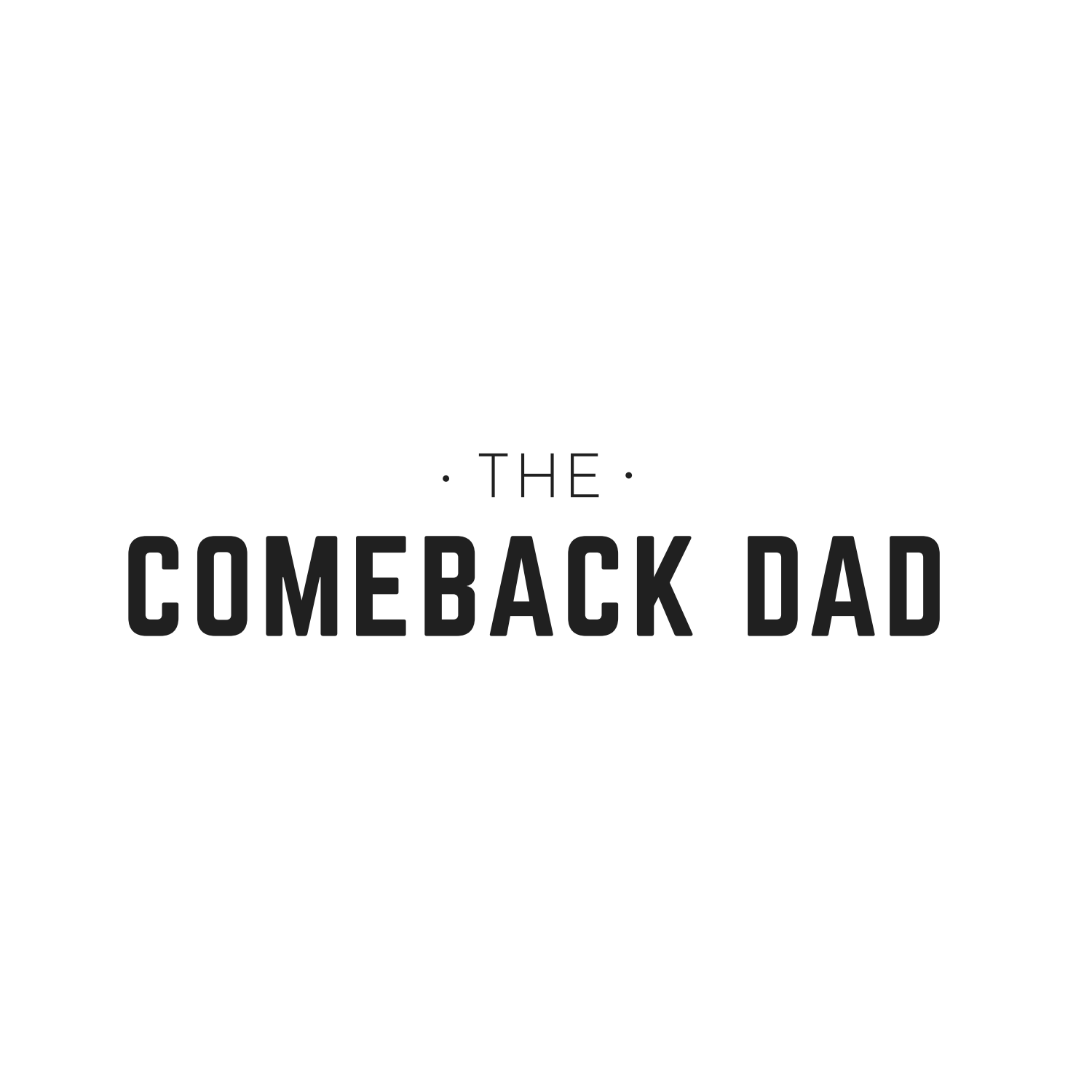 comebackdad's podcast show art