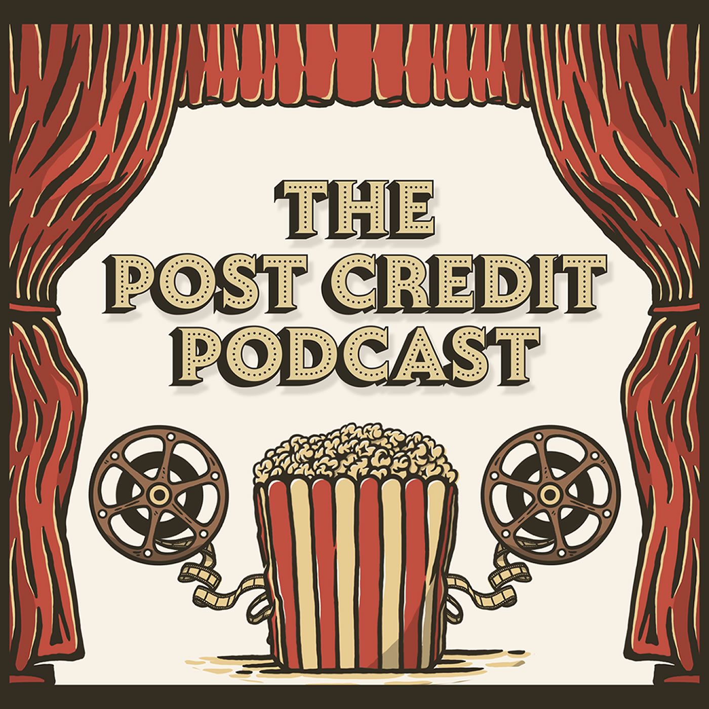 The Post Credit Podcast show art