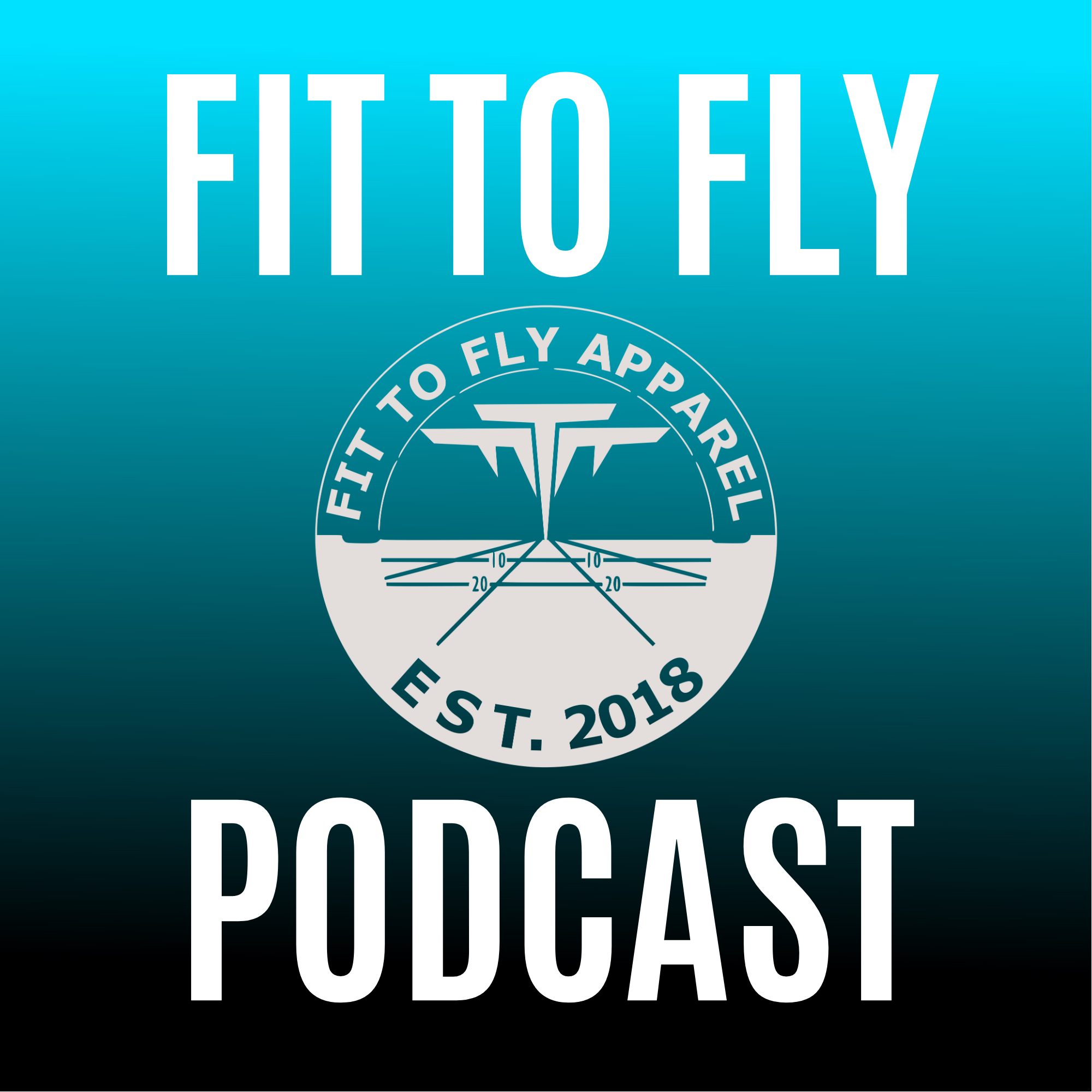 Fit to Fly podcast show art