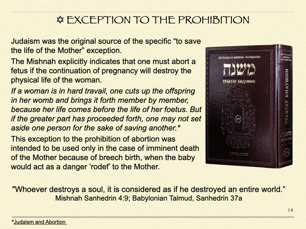Exception To The ProhibitIon