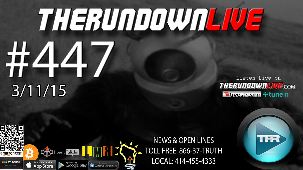 The Rundown Live #447 Open Lines (Fukushima,3D Printed Buildings,StarPeople)