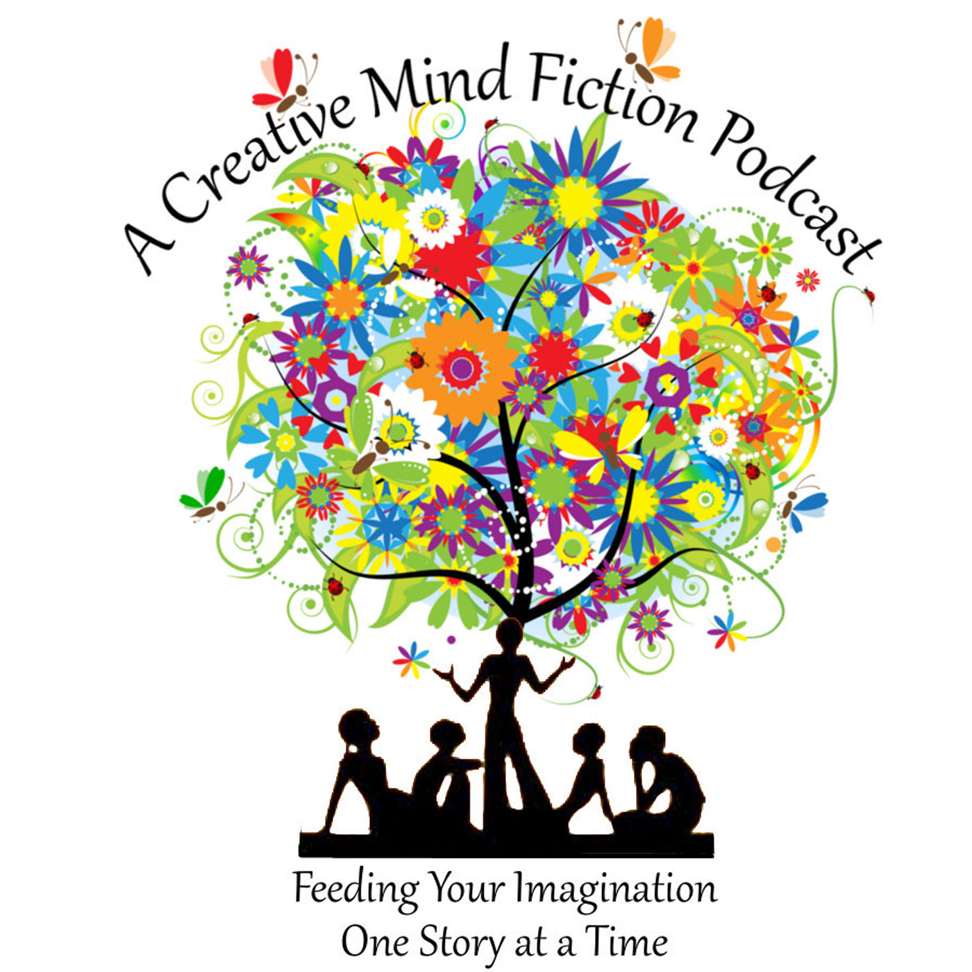 """""""    A Creative Mind Fiction Podcast, Short Stories & Flash Fiction Audio Books by Alice Nelson and Carrie Zylka """" Podcast"""