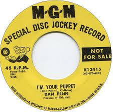 Dan Penn - I'm Your Puppet -Time Warp Song of The Day (9/27)