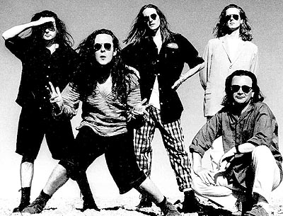 The Wonder Stuff and THEIR AMAZING HAIR...