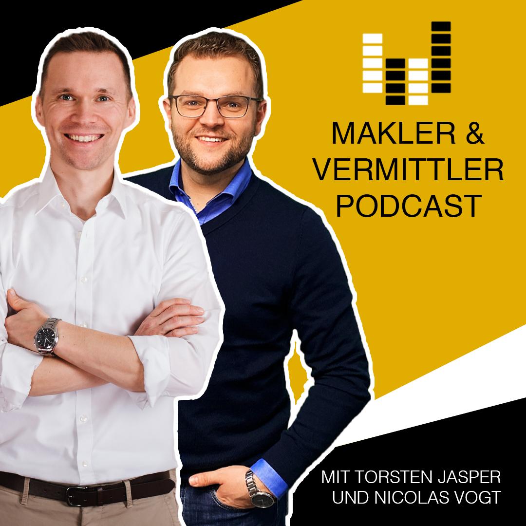 Makler und Vermittler Podcast show art