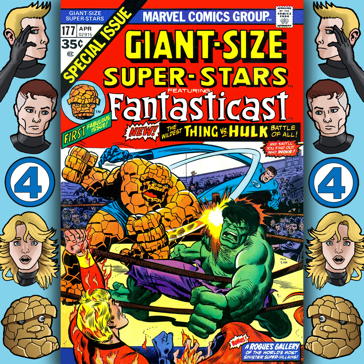 Episode 177: Giant-Size Super Stars #1 - The Mind Of The Monster