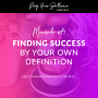 Artwork for Minisode #14: Finding Success By Your Own Definition