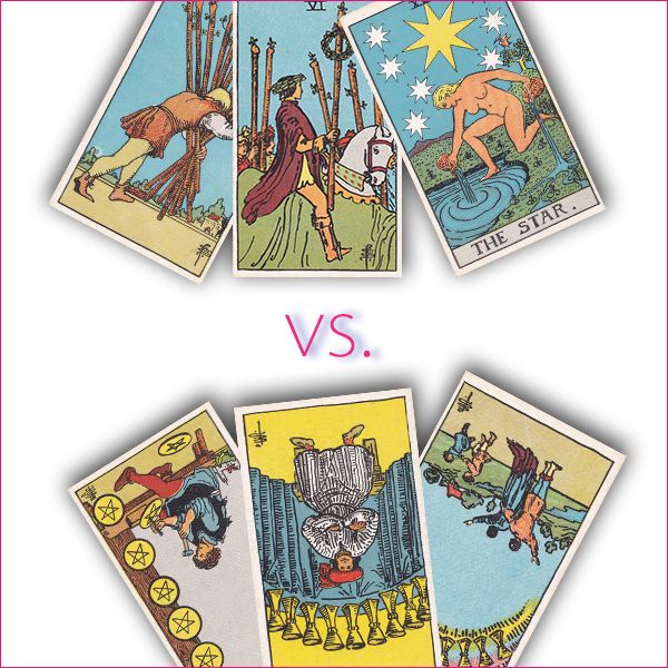 "Tarot reversals made easy (Series 3 of 3) New fun tarot game: ""The Worst Day Ever!!"""