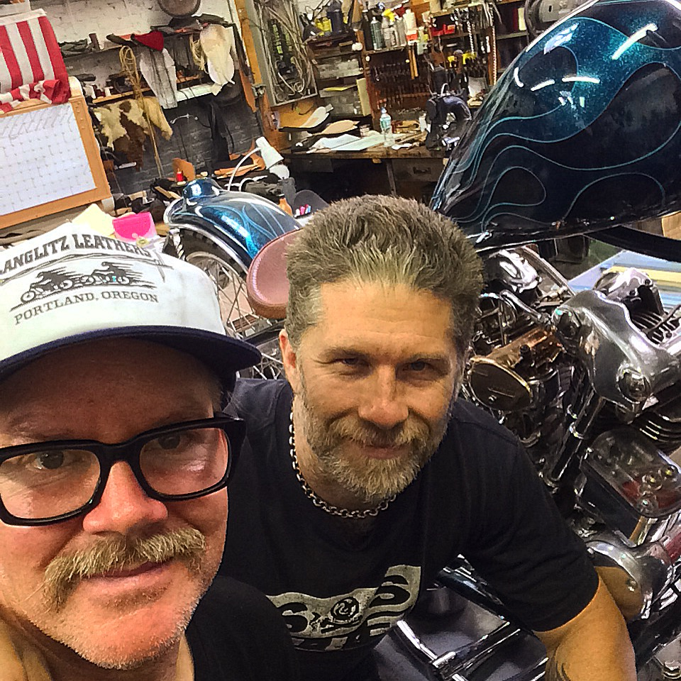 "#274:Paul Cox/Choppers and Leathers in NYC ""Handmade"""