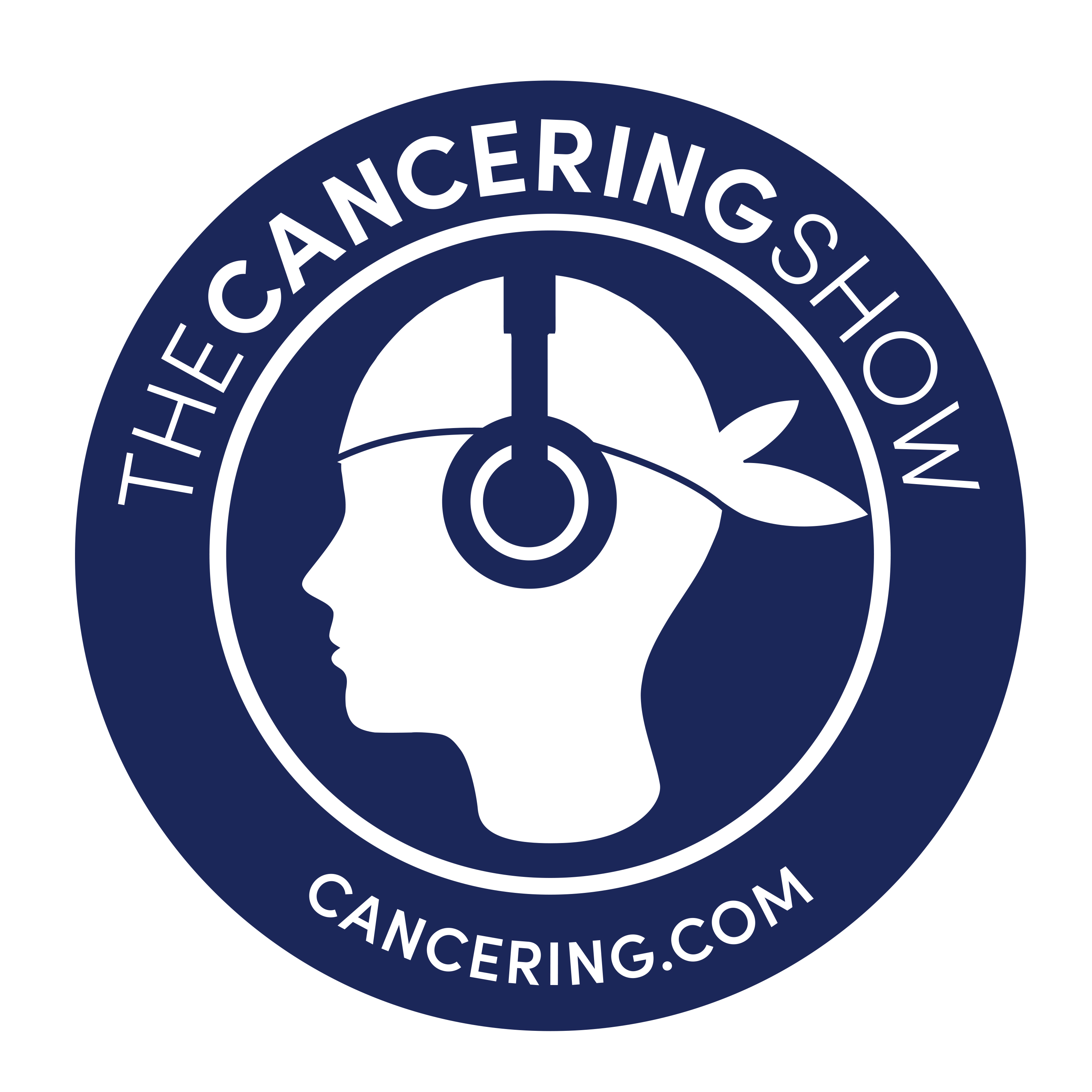 The Cancering Show show art