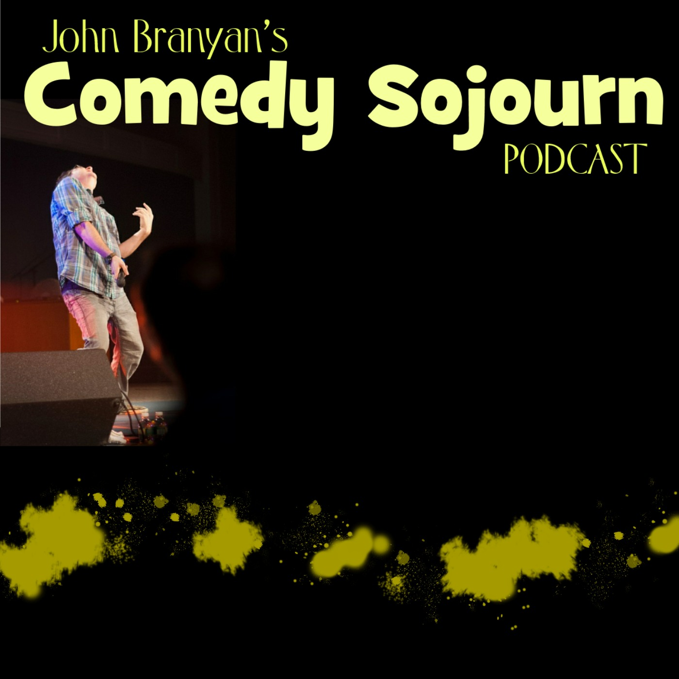 John Branyan's Comedy Sojourn Podcast show art