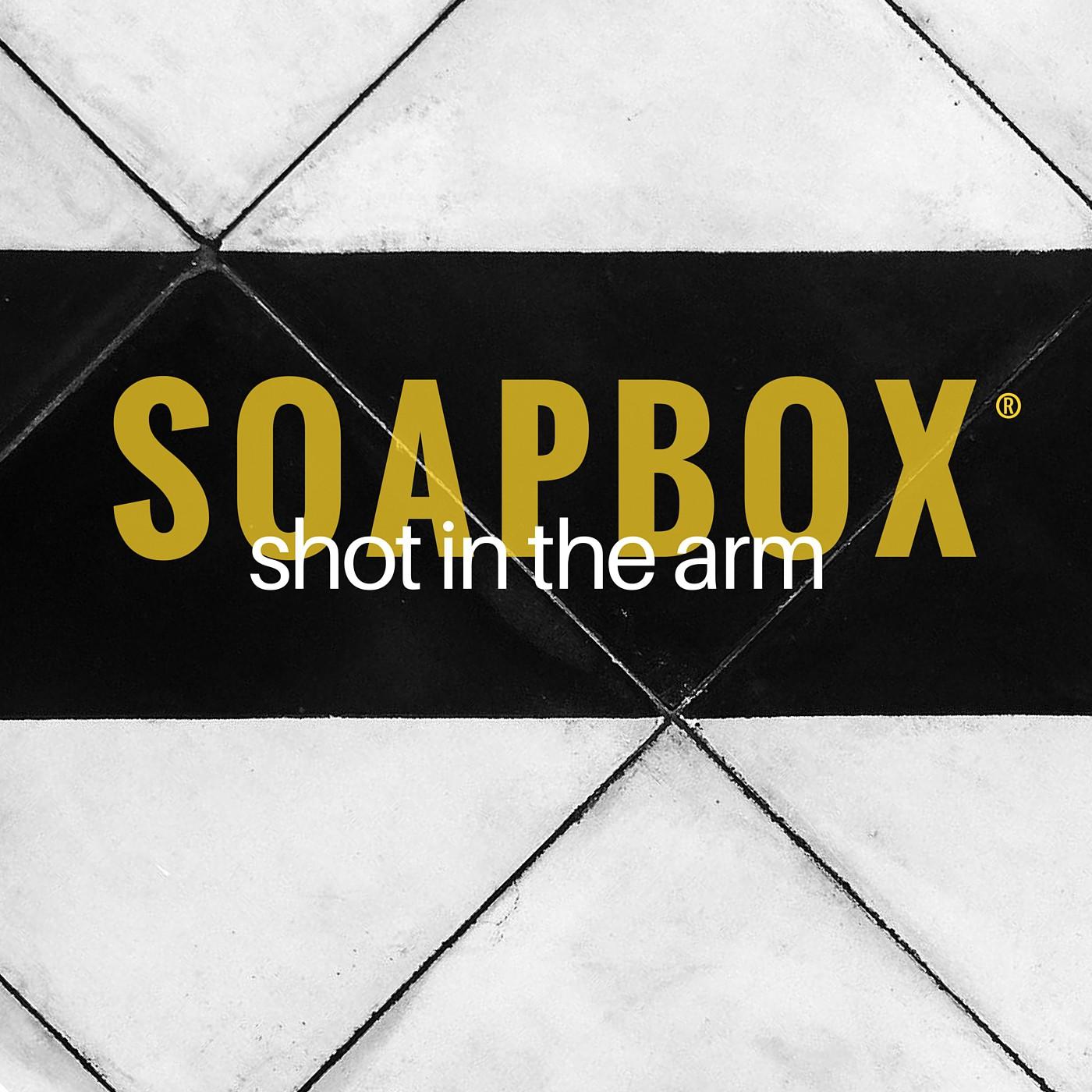 Artwork for SOAPBOX shot in the arm Ep. 3: Jo Coudert