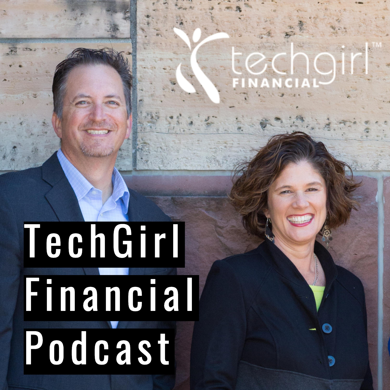 TechGirl Financial Podcast show art