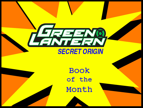 Cammy's Comic Corner - Book Of The Month - Green Lantern: Secret Origin