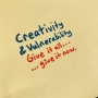 Artwork for Creativity & Vulnerability: Give it all ... give it now