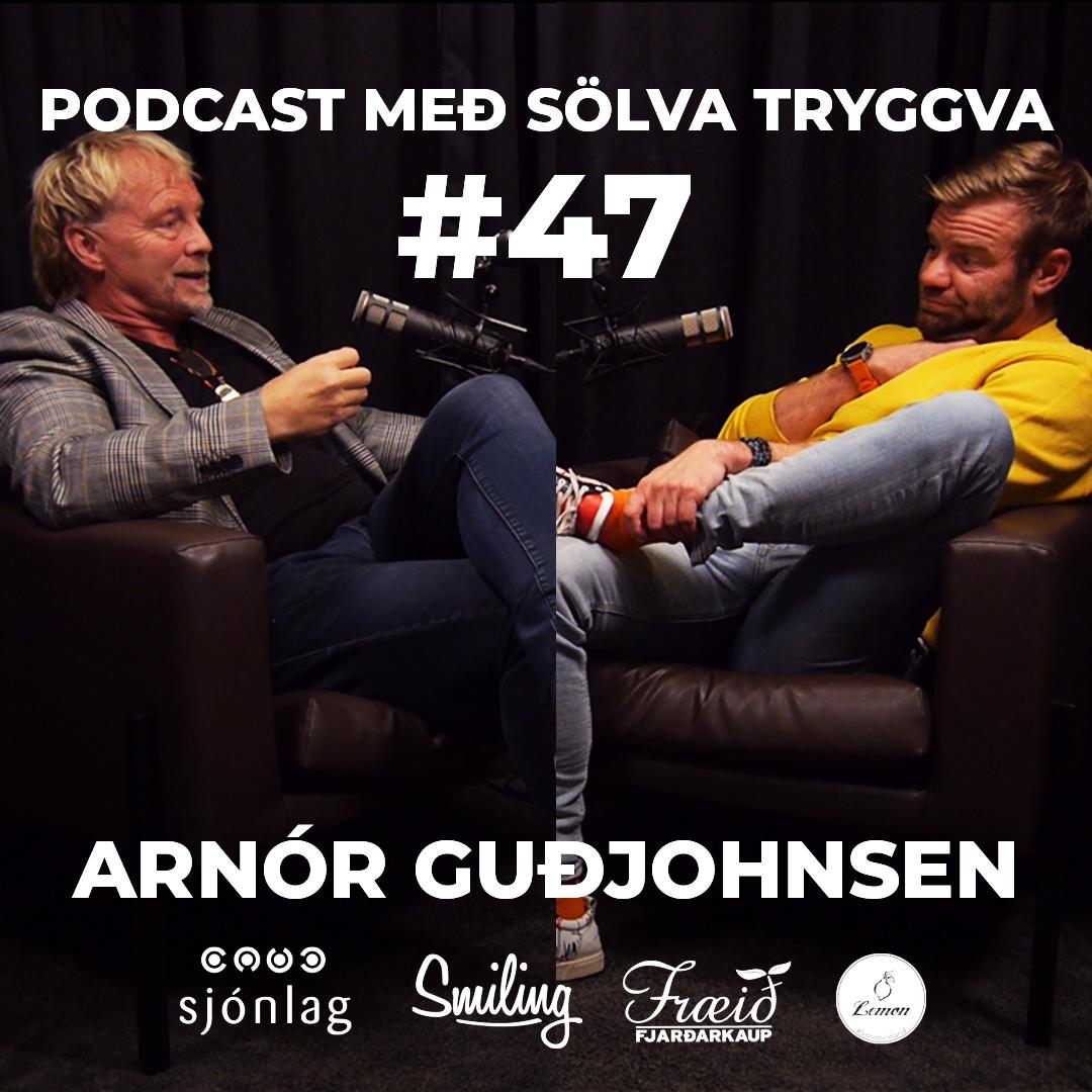 #47 Arnór Guðjohnsen með Sölva Tryggva