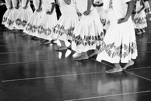photo of hula skirts