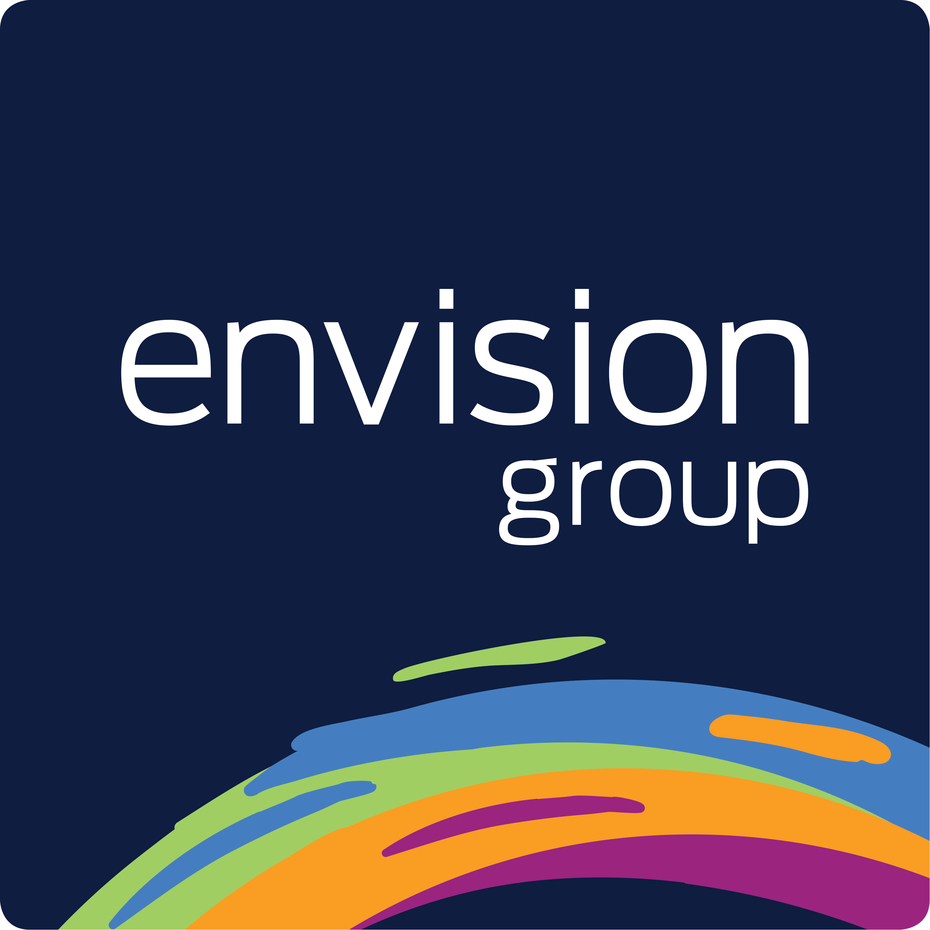 Envision Group Podcasts show art