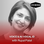 Artwork for Voice and AI: Rupal Patel Vocal ID