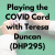Playing the COVID Card with Teresa Duncan (DHP295) show art