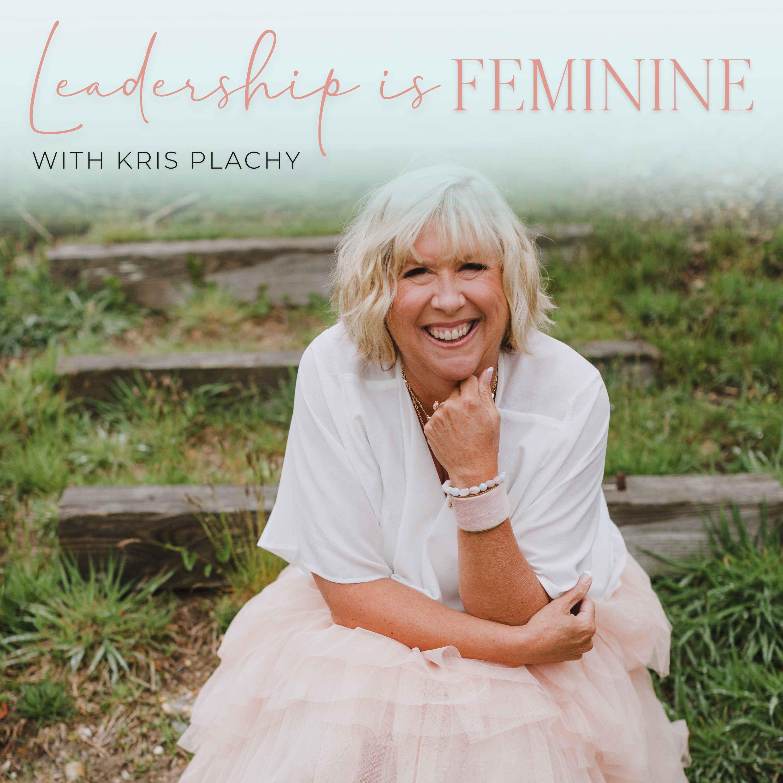 Leadership is Feminine show art