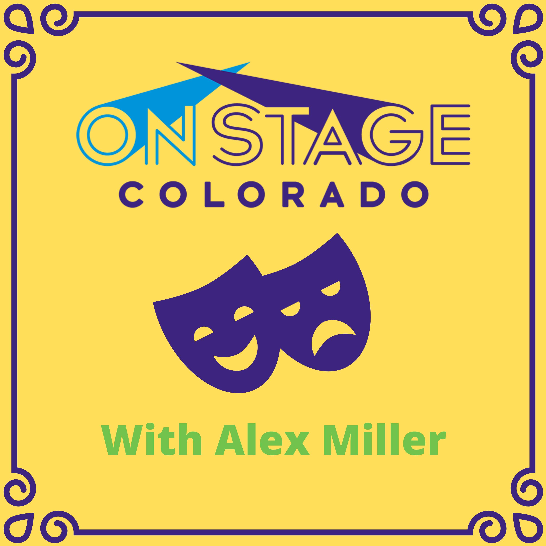 OnStage Colorado podcast show art