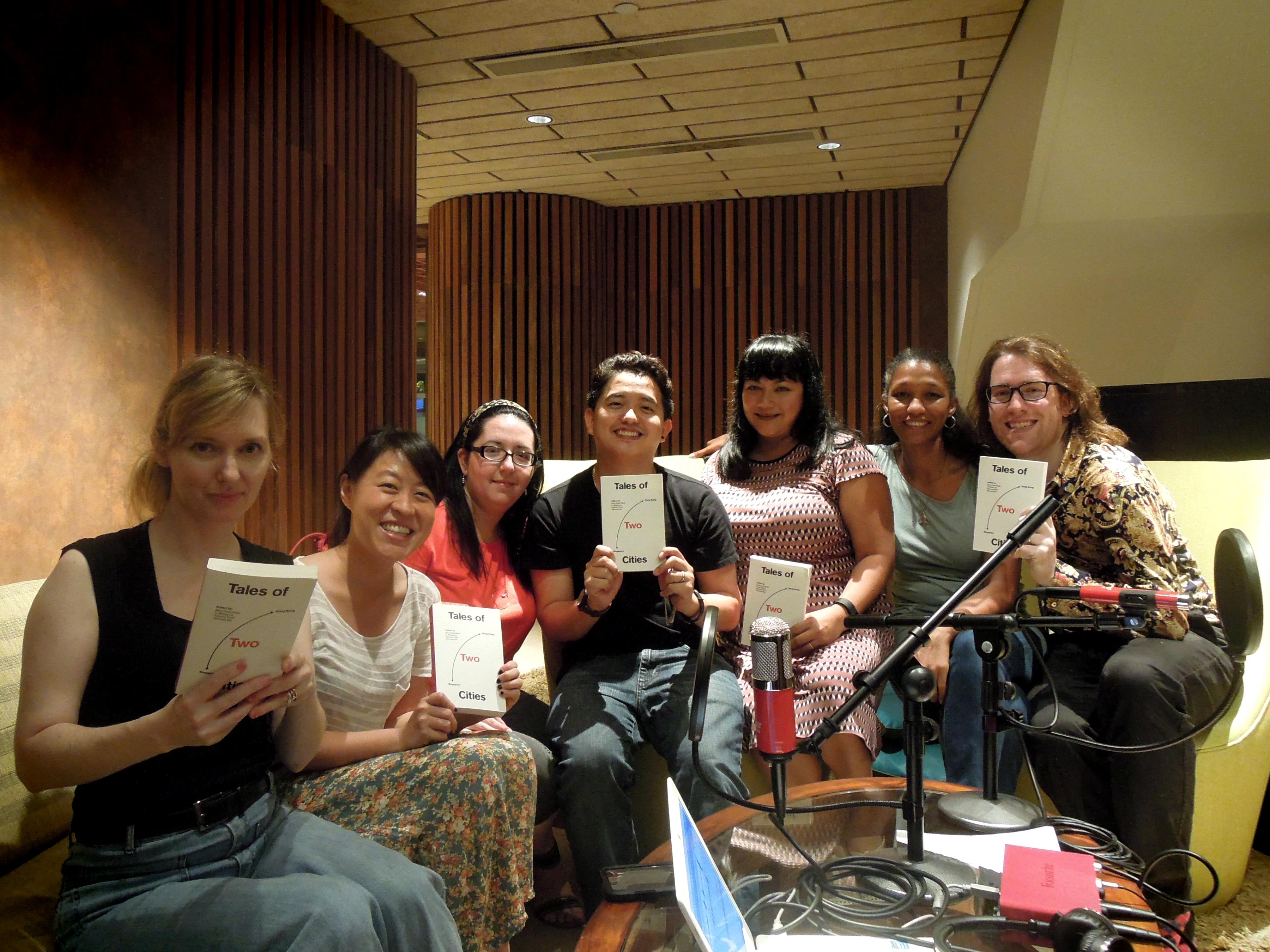Bronwyn, Wan Phing, Magali, Mickey, Vanessa, Sebrina, Simon