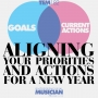 Artwork for TEM182: Aligning your priorities and actions for a new year (TEM Short)