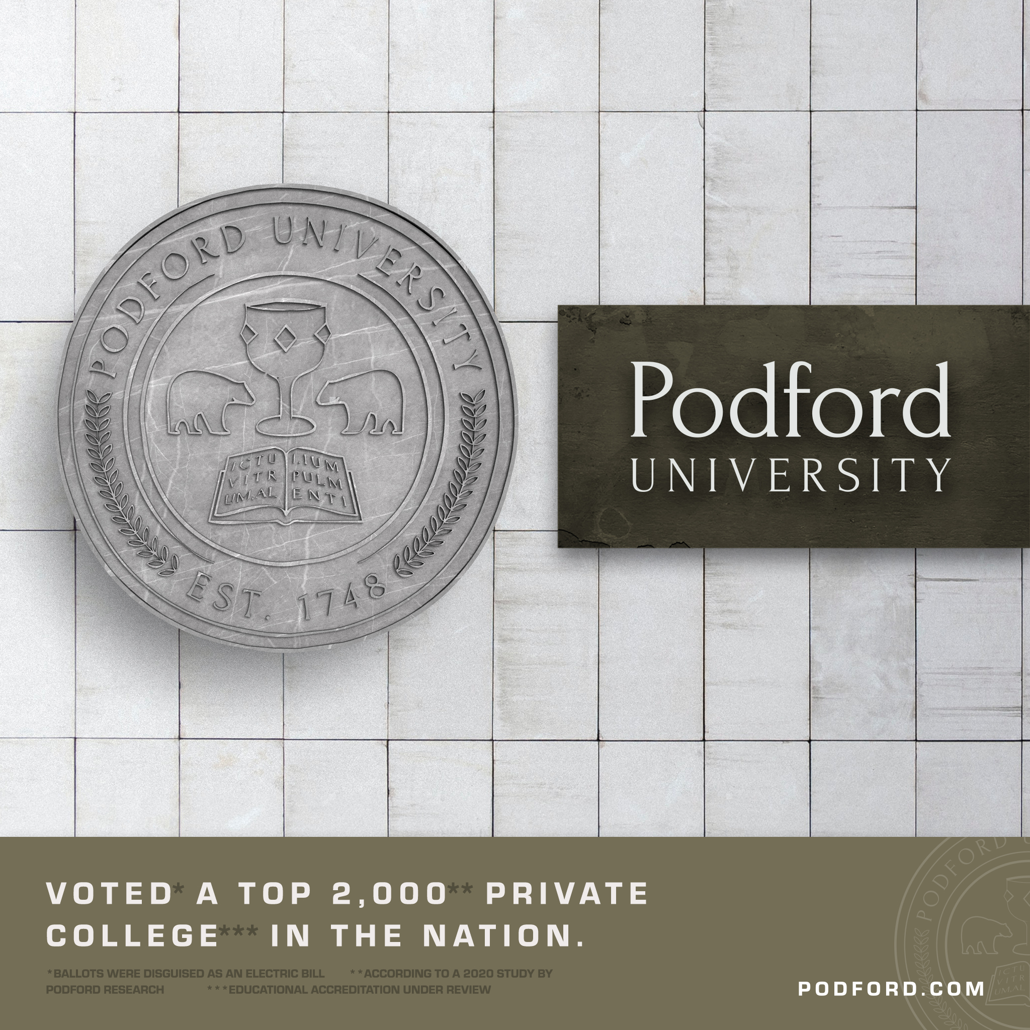 Podford University: Making Friends, Attending Parties, Reflecting on Peargate