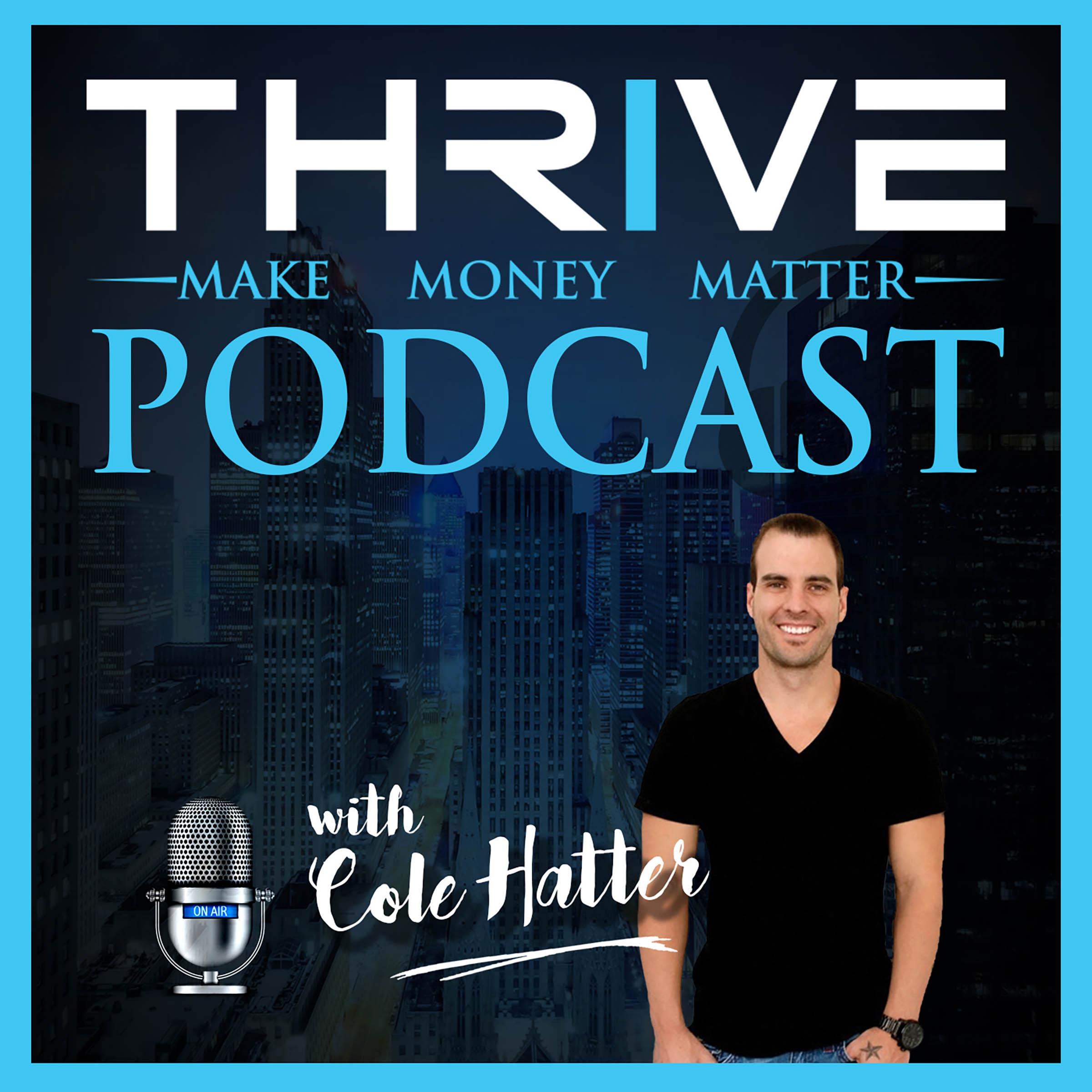Thrive: Make Money Matter Podcast show art
