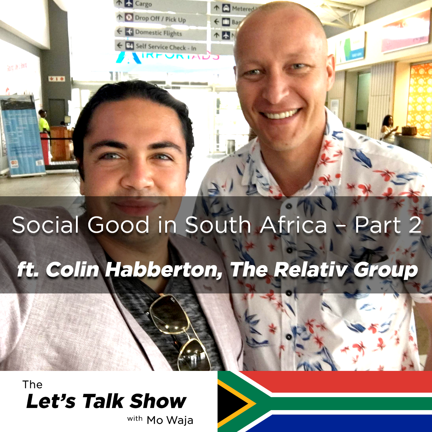 Artwork for Social Good in South Africa (Part 2) ft. Colin Habberton, The Relativ Group