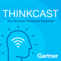 Artwork for Gartner ThinkCast 166: The Intersection of AI & CX