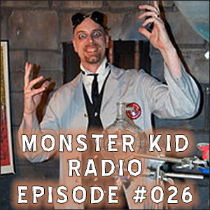 Monster Kid Radio #026 - Larry Underwood (Dr. Gangrene) and Vincent Price, Part Two
