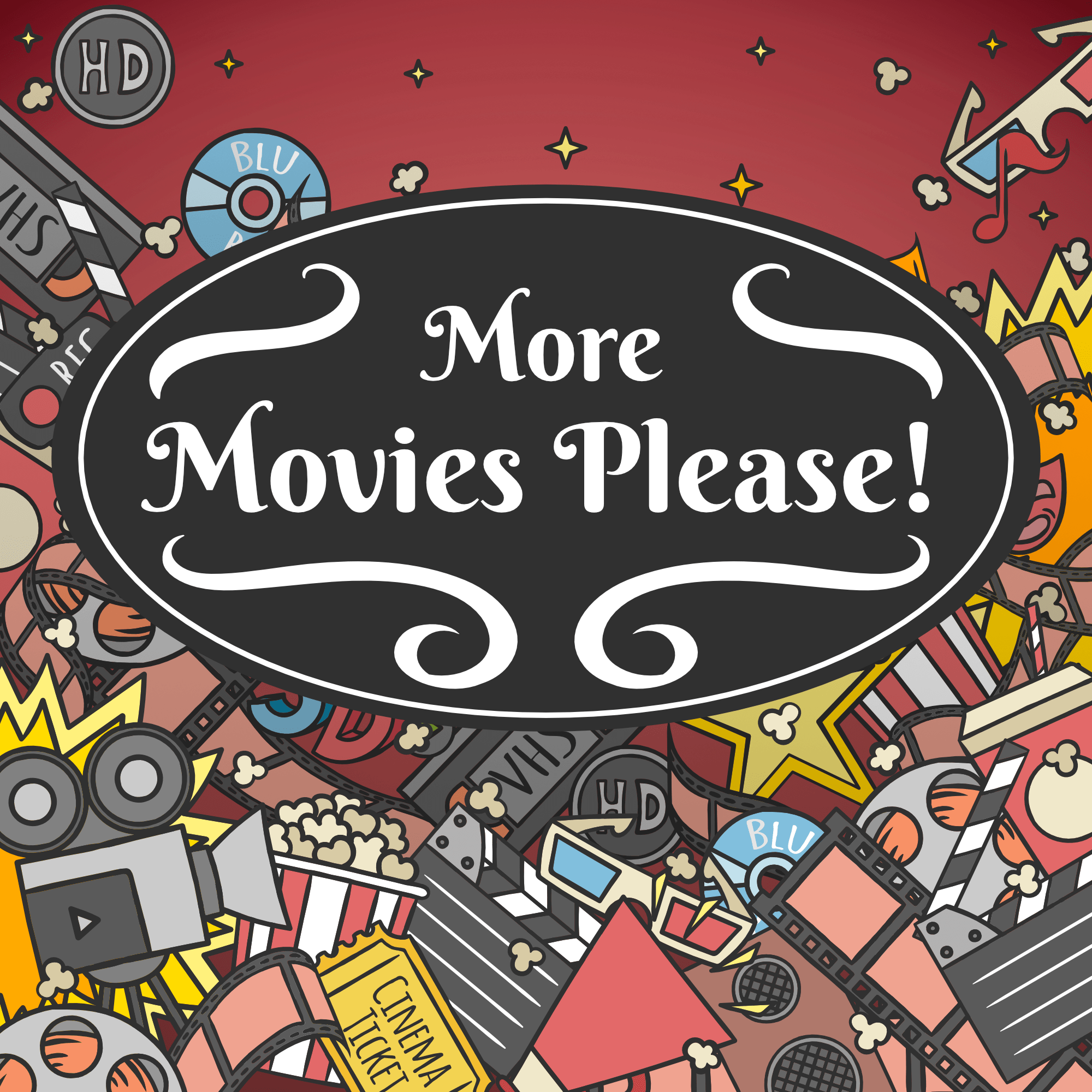 More Movies Please! show art