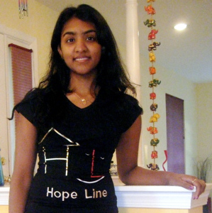Next Generation Big Visionary: 18-Year-Old Aneesha Raghunathan, Hope Line Fashions