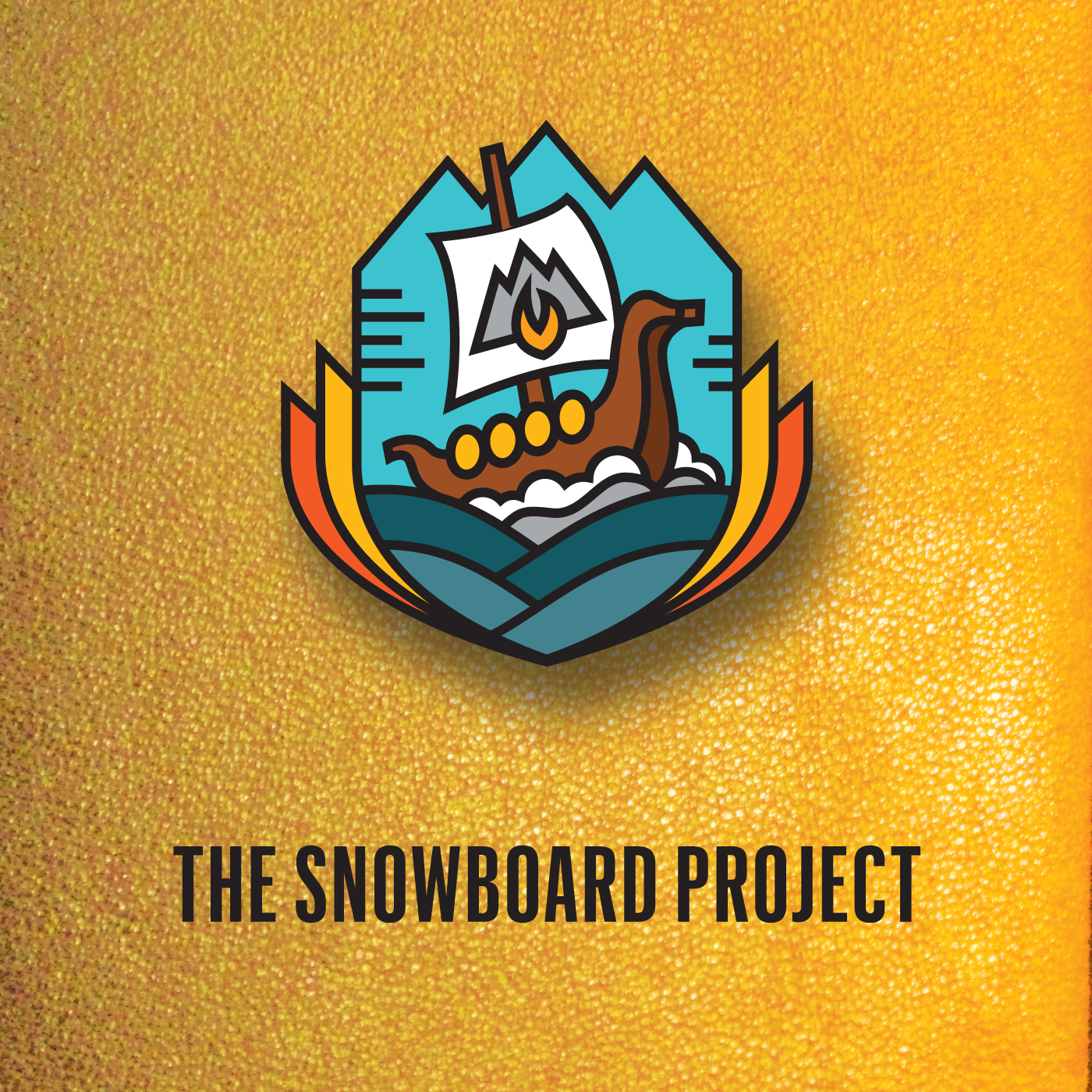 The Snowboard Project show art