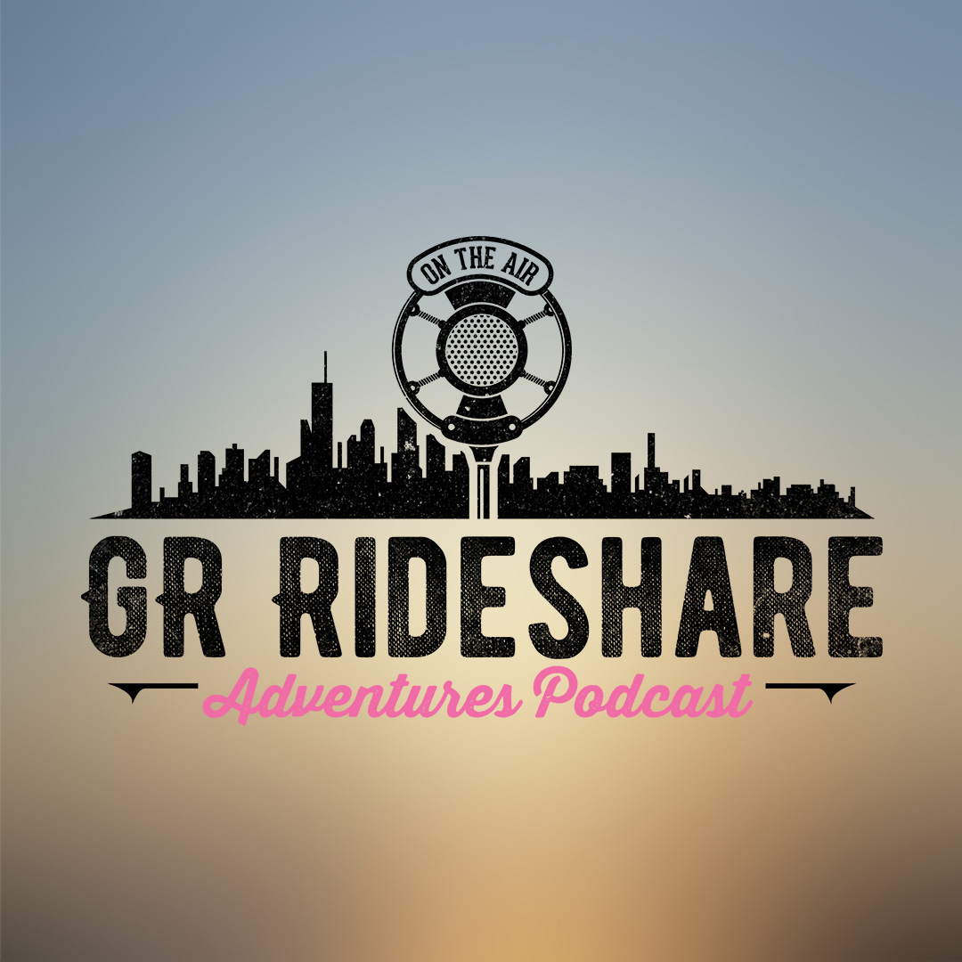 Artwork for Episode #36  Samantha a rideshare driver from Grand Rapids joins us. We talk about the zipper merge, drivers gaming the surge system, and much more Uber and Lyft News.