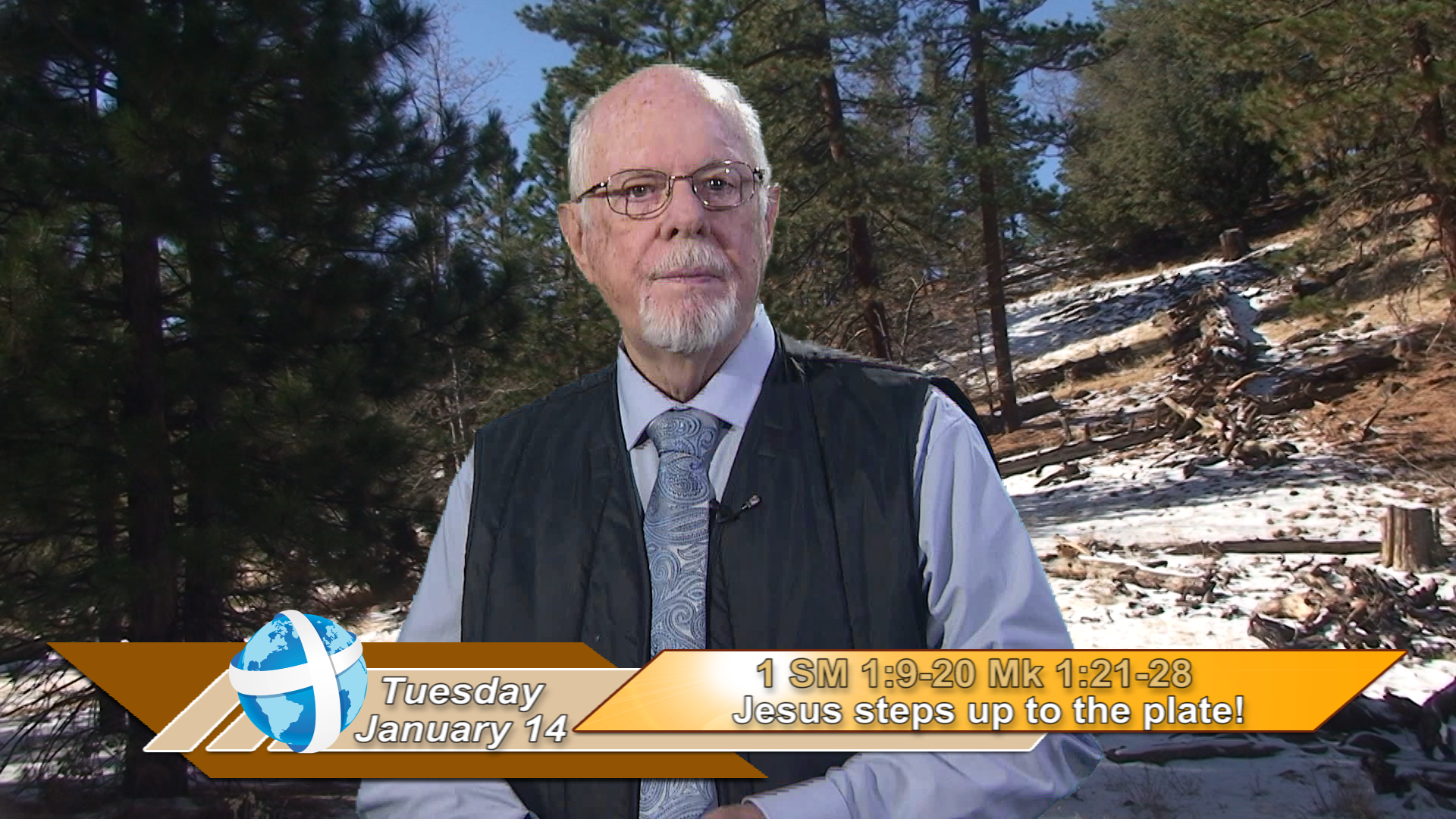 Artwork for iGod Today with Br. Steve Pardy, SVD; Today's topic:  Jesus steps up to the plate!
