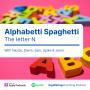 Artwork for Alphabetti Spaghetti: Letter N