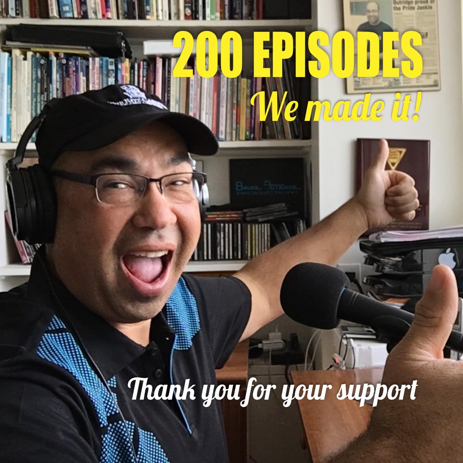 200 episodes