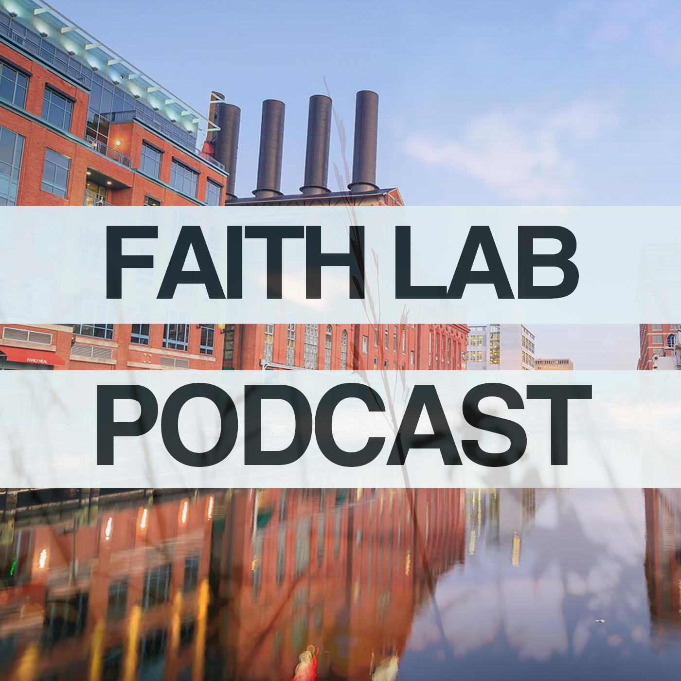 Faith Lab Podcast show art
