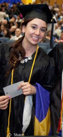 2014, grad school graduation