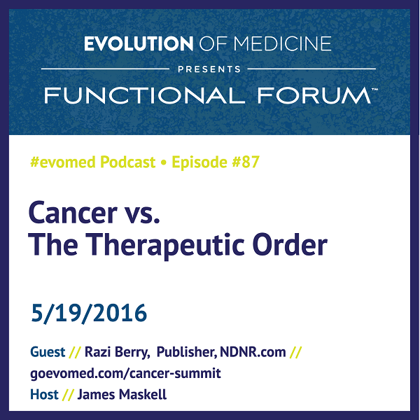 Cancer vs. The Therapeutic Order