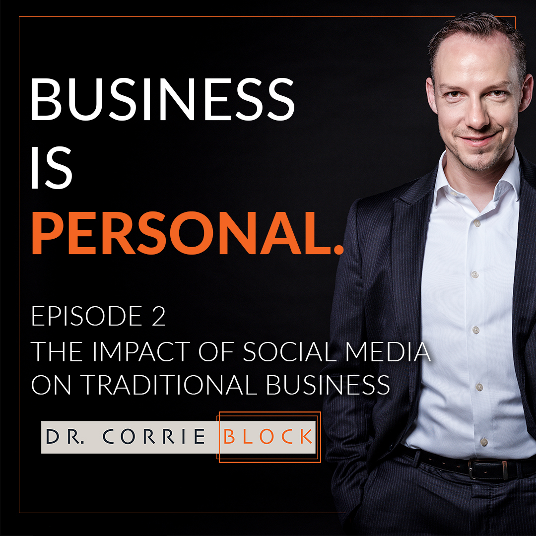 Artwork for Ep02: The Impact of Social Media on Traditional Business