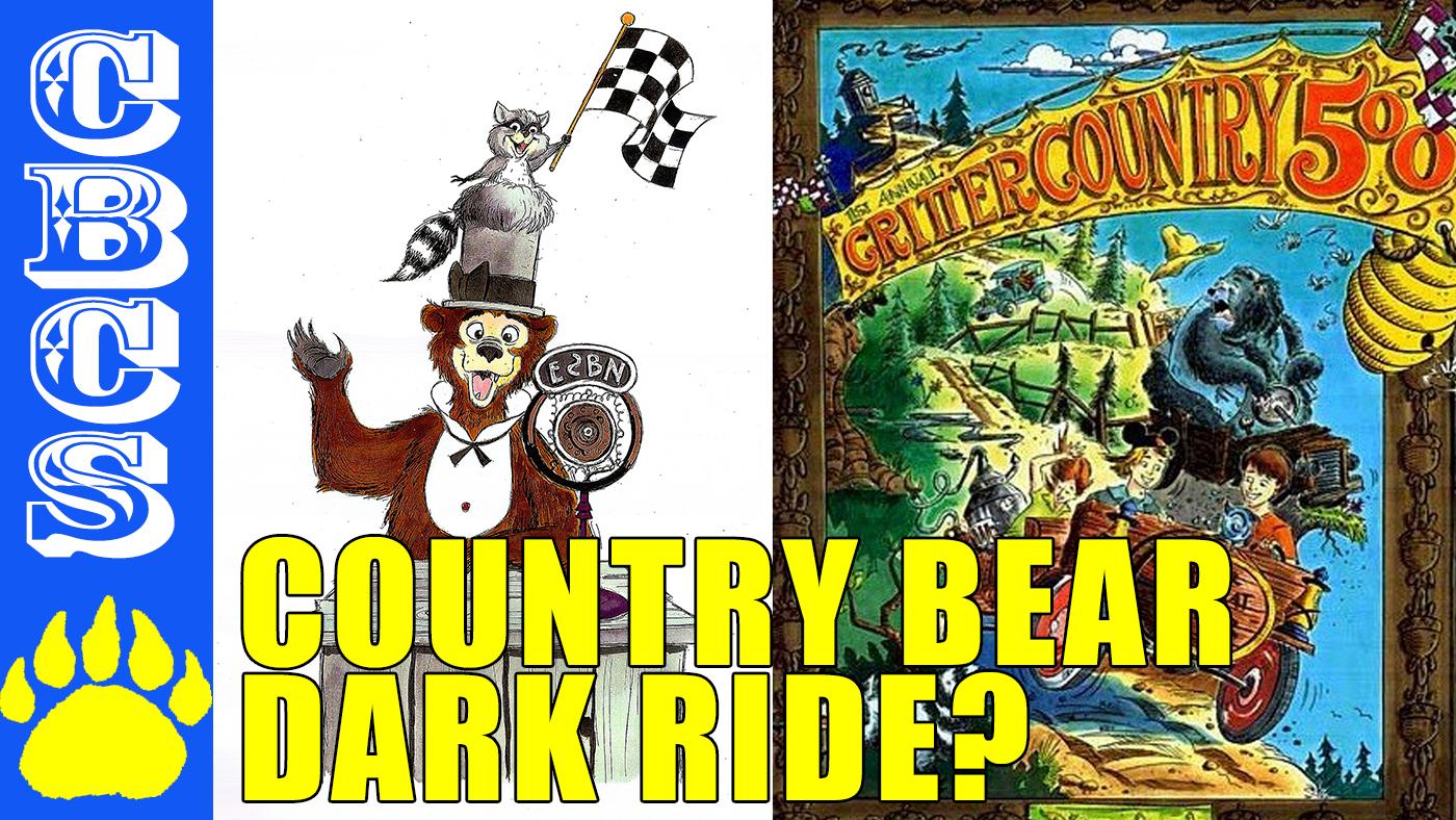 Artwork for Country Bear Jamboree Disneyland Dark Ride! Critter Country 500 0 SE010