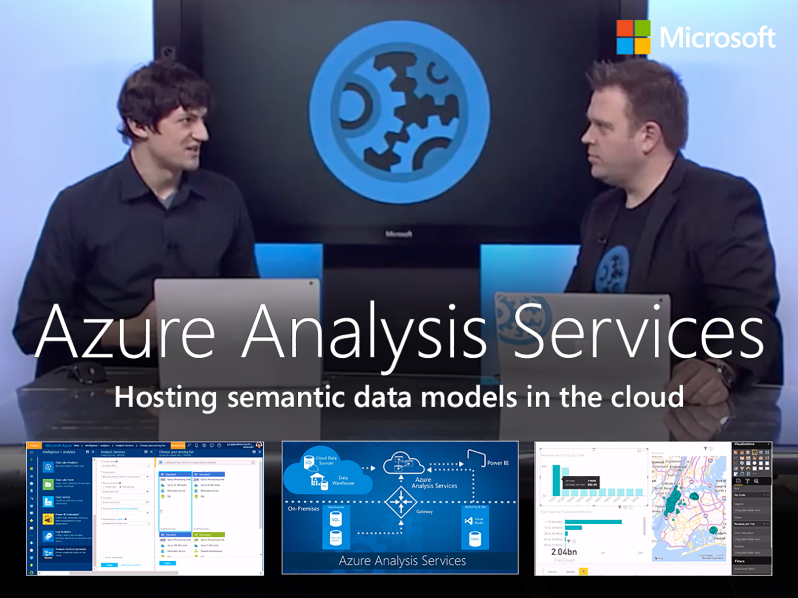 Artwork for An introduction to Azure Analysis Services